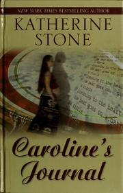 Cover of: Caroline's journal