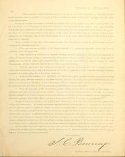 Cover of: [Letter in opposition to renomination of President Lincoln]