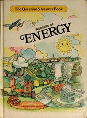 Cover of: Wonders of energy