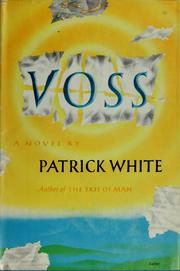 Cover of: Voss: a novel.