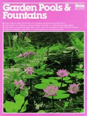 Cover of: Garden pools & fountains
