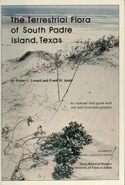 Cover of: The terrestrial flora of South Padre Island, Texas | Robert I. Lonard