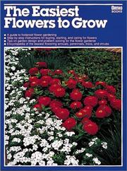 Cover of: The easiest flowers to grow | Derek Fell