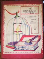 Cover of: The bird began to sing