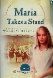Cover of: Maria takes a stand
