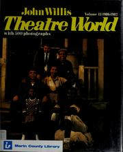 Cover of: Theatre world