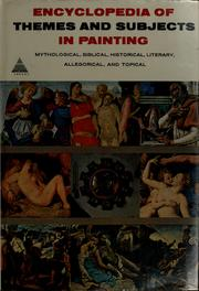 Cover of: Encyclopedia of themes and subjects in painting