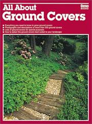 Cover of: All about ground covers