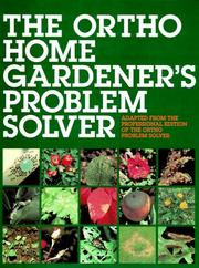 Cover of: The Ortho home gardener