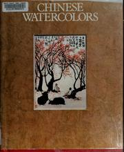 Cover of: Chinese watercolours | Josef Hejzlar