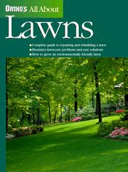 Cover of: All about lawns