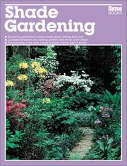 Cover of: Shade gardening
