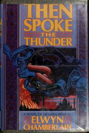 Cover of: Then spoke the thunder