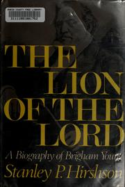 Cover of: The lion of the Lord