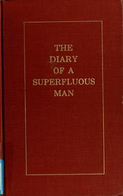Cover of: The diary of a superfluous man | Ivan Sergeevich Turgenev