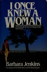 I once knew a woman by Barbara Jenkins