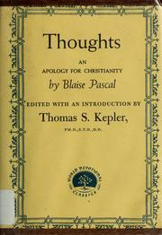 Cover of: Thoughts