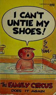 Cover of: I can't untie my shoes!