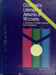 Cover of: Children's literature awards and winners | Dolores Blythe Jones