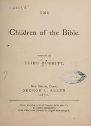 Cover of: The children of the Bible