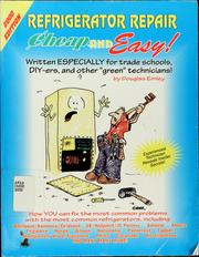 Cover of: Refrigerator repair