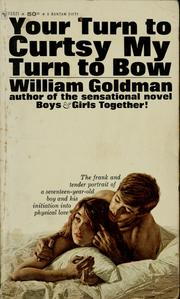 Cover of: Your turn to curtsy my turn to bow