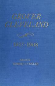 Cover of: Grover Cleveland, 1837-1908