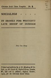 Cover of: Socialism