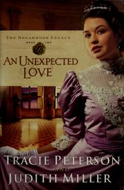 Cover of: An unexpected love