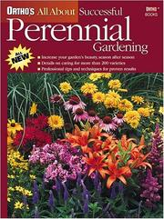 Cover of: Ortho's all about successful perennial gardening