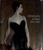 Cover of: Americans in Paris, 1860-1900