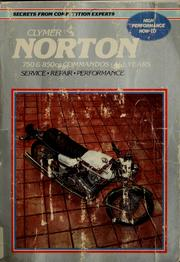 Cover of: Norton service-repair handbook, 750 & 850 cc Commandos, all years | Mike Bishop