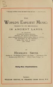 Cover of: The world's earliest music