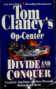 Cover of: Tom Clancy's Op-center | Jeff Rovin