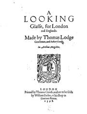 Cover of: A Looking Glasse, for London and Englande | Thomas Lodge