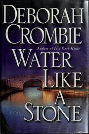 Cover of: Water like a stone