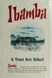 Cover of: Ibamba