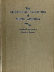 Cover of: Geological evolution of North America