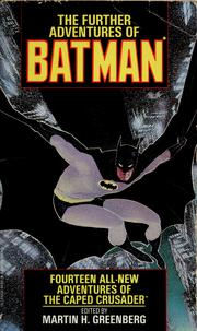 Cover of: The further adventures of Batman