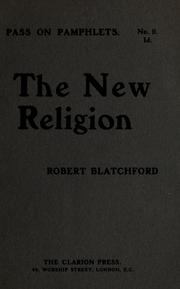 Cover of: The new religion