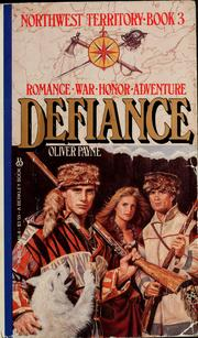 Cover of: Defiance | Oliver Payne