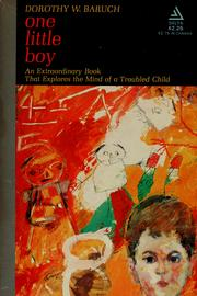 Cover of: One little boy