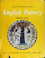 Cover of: A picture history of English pottery
