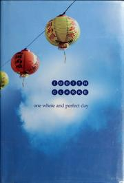 Cover of: One whole and perfect day