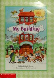 Cover of: My building