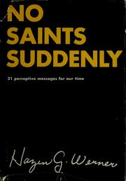 Cover of: No saints suddenly