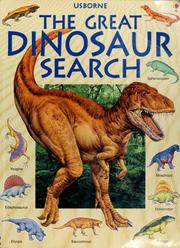Cover of: The great dinosaur search | Rosie Heywood