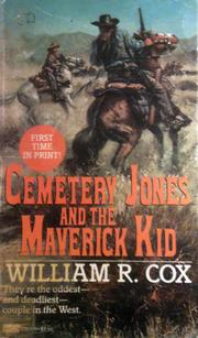 Cover of: Cemetery Jones and the Maverick Kid