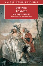 Cover of: CANDIDE AND OTHER STORIES; TRANS. BY ROGER PEARSON | Voltaire