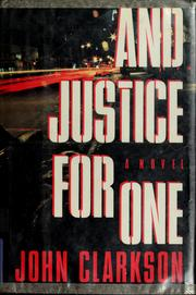Cover of: And justice for one
